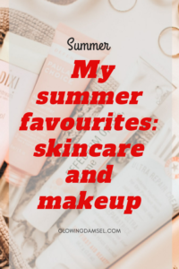 My summer favourite products