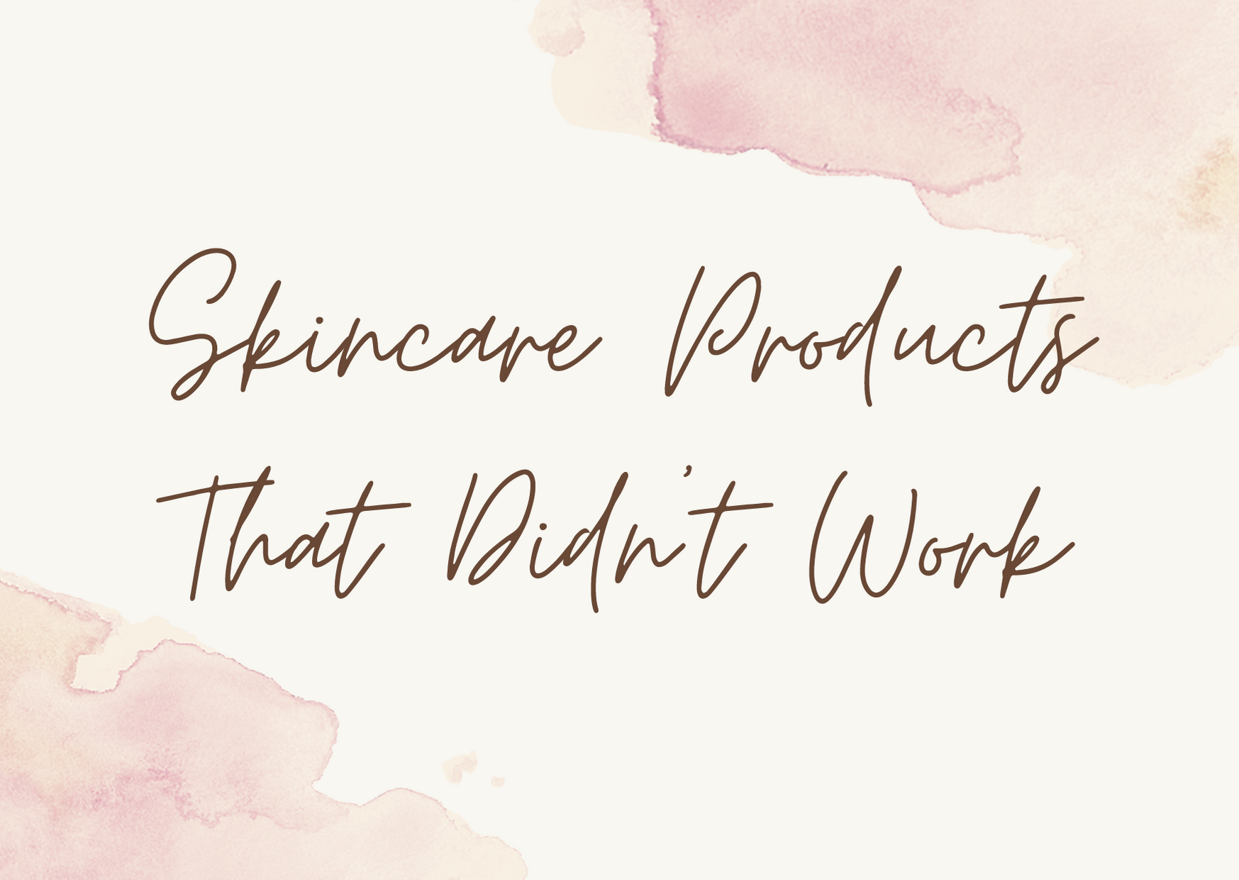 beauty products that are a waste of money